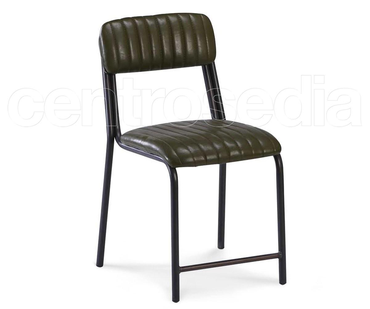 Sedie Pieghevoli Imbottite : Simpla sedia metallo imbottito sedie imbottite centrosedia