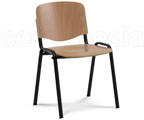 Iso Sedia Metallo legno