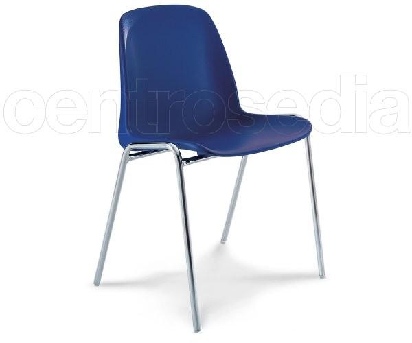 """""""Kono"""" Plastic Chair"""