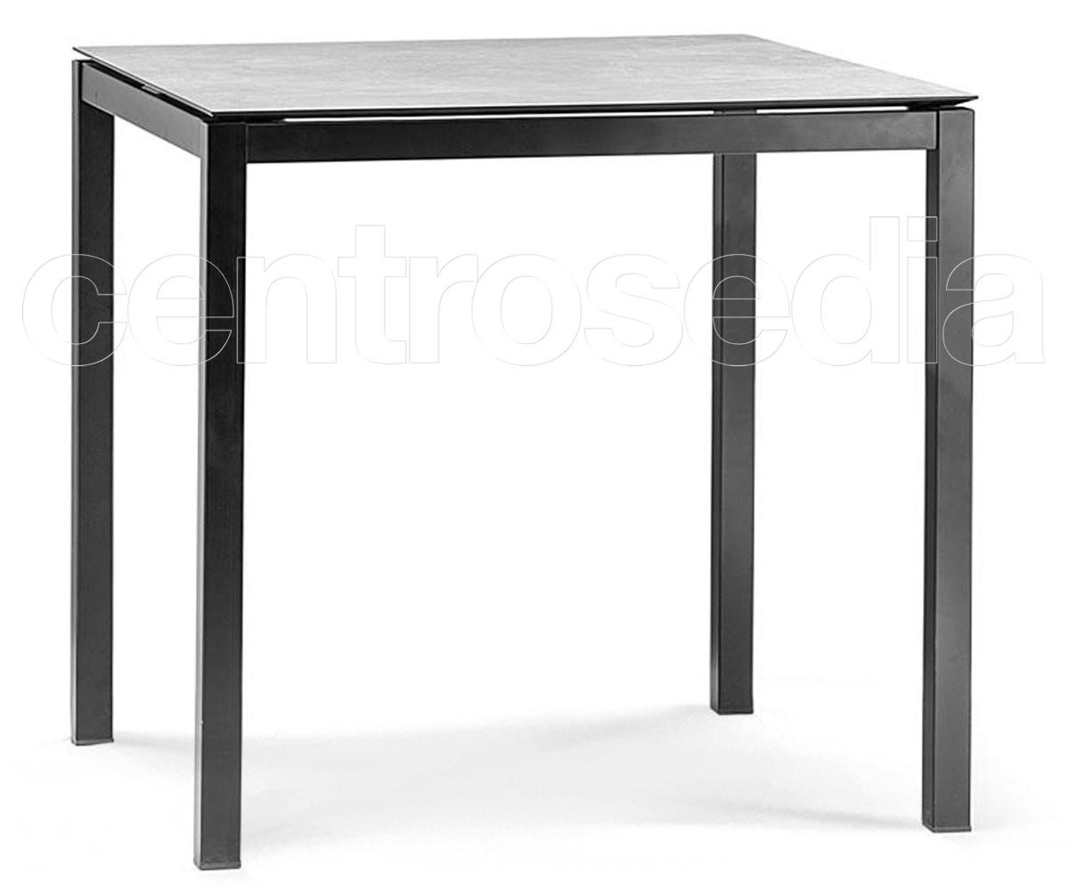 Aria Tavolo Quadrato Alluminio - Tavoli Alluminio, Metallo | Centrosedia