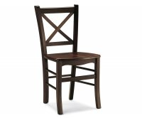 """""""Atena"""" Wooden Chair - Wood Seat"""