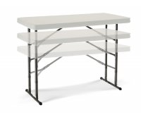 """Lifetime 80161"" Folding Table 122x61 Adjustable"