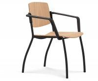 """Plus"" Wooden Armchair"