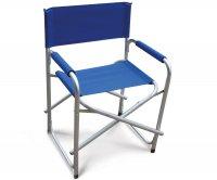 """Leila"" Alluminum Director Folding Chair"