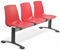"""""""Road"""" Metal and Polypropylene Chair"""
