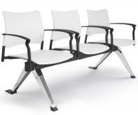"""Dylan"" Metal and Polypropylene Chair"