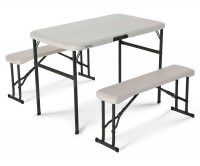 Lifetime 80352 Folding Pic Nic Table with Bench