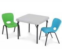 Lifetime 80425 Child's Folding Table 61x61cm