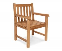 Java Armchair in Teak Wood