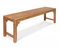 """Sarika"" Teak Wooden Bench"