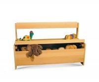 """""""Memole"""" Wooden Storage bench"""
