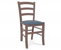 """Anita"" Wood Chair - Padded Seat"