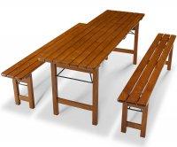 """Berlin"" Folding Pub Furniture Set"