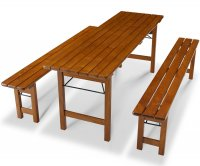 """Berlin"" Folding Pub Furniture Set"