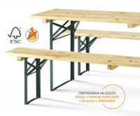"""Monaco"" Folding Pub Furniture Set"