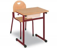 CC1558 Single-seater school desk