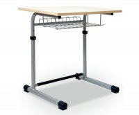 CC1105 Single-seater School Desk - Adjustable Top