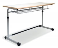 CC1106 Single-seater School Desk - Adjustable Top