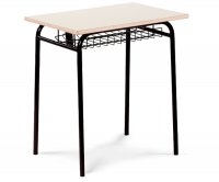 CC1666 Single-seater School Desk with Grid Undertop
