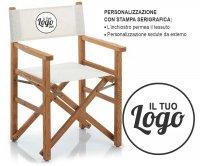 """""""Palmbeach"""" Wooden Directot Folding Chair"""