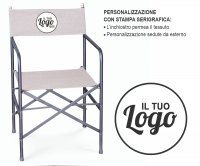 """Isabella"" Director Folding Armchair"