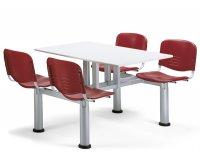 """""""Go"""" Polypropylene Monoblock Canteen Table"""